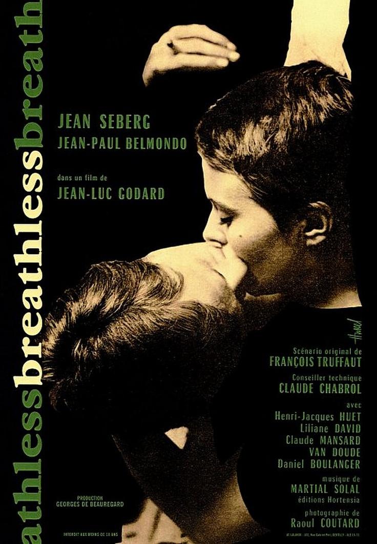 Breathless - Jean-Luc Godard (1960)