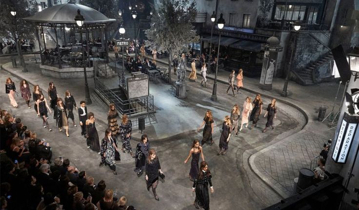 Chanel's latest Metiers d'Art presentation took show-goers to the historic Cinecittà studios in Rome, only to transport them back to Paris.