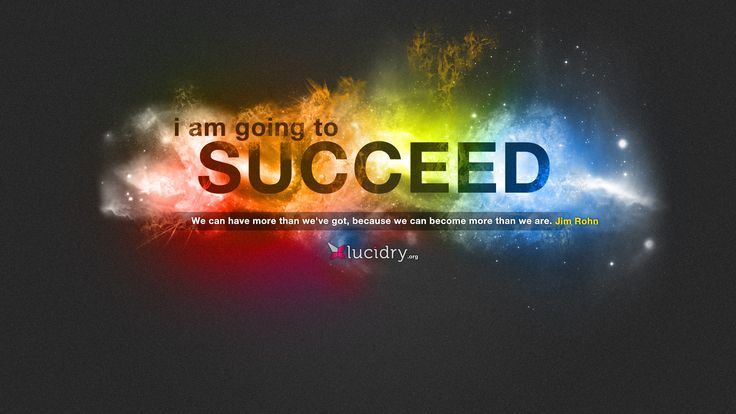 Success Inspirational Wallpaper I Am Going To Succeed