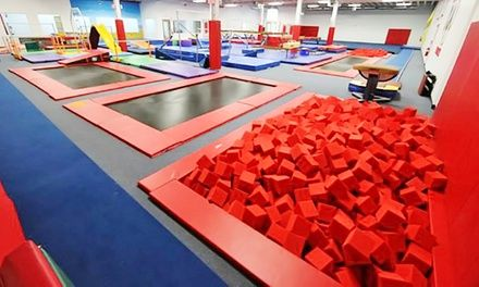Experienced gymnastics teachers lead a variety of classes for students as young as 18 months old