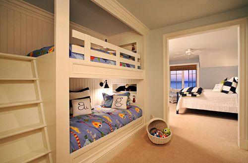 Built In Bunk Beds Design DivaDigs