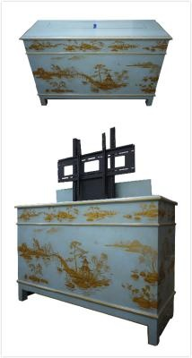two world arts pop up tv cabinet wishes pinterest. Black Bedroom Furniture Sets. Home Design Ideas