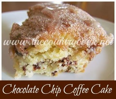Chocolate Chip Coffee Cake (with a secret!) | Coffee Cake, Chips and ...
