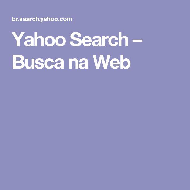 Yahoo Search – Busca na Web