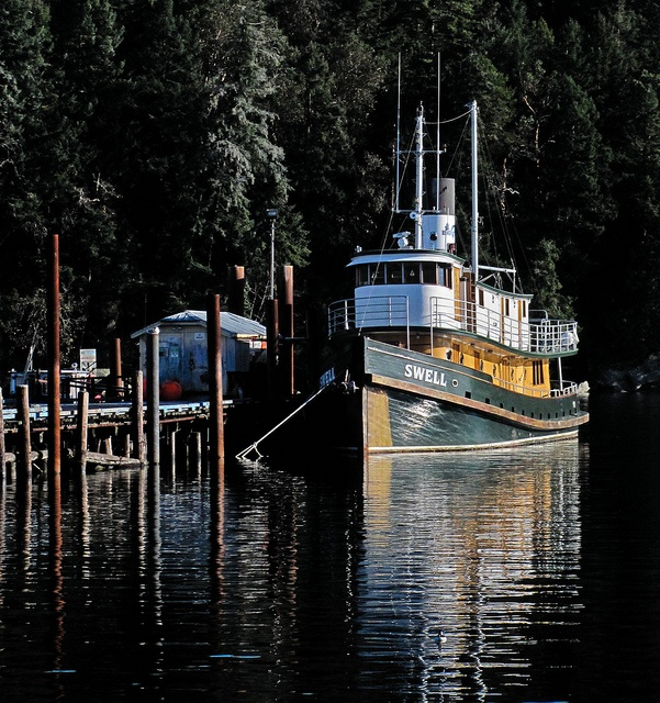 Nautilus Swell, now Liveaboard Dive ship out of Nanaimo, BC