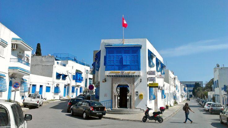 Sidi Bou Said, Tunisia This is the suburb where Carthagian, and later Tunisian,