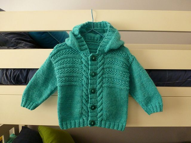 Baby Hoodie Knitting Pattern Free : 154 best images about Toddler free hoodie knitting patterns on Pinterest