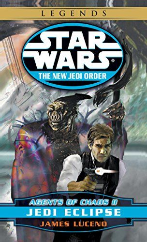 Jedi Eclipse: Star Wars Legends (The New Jedi Order: Agents of Chaos, Book II) (Star Wars: The New Jedi Order 5):   A string of smashing victories by the forces of the sinister aliens known as the Yuuzhan Vong has left New Republic resources and morale stretched to the breaking point. Leia Organa Solo, estranged from her husband, Han, oversees the evacuation of refugees on planets in the path of the merciless invaders. Luke Skywalker struggles to hold the fractious Jedi Knights togethe...