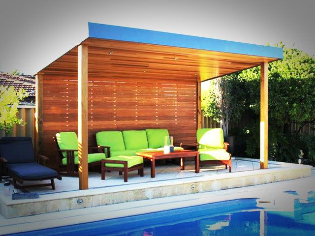 poolside structures | The following email was from the owner of this Stunning Poolside ...