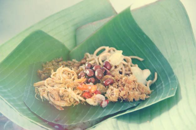 Nasi Jinggo Jinggo rice as the favorite food cheap. Like the cat rice, rice…