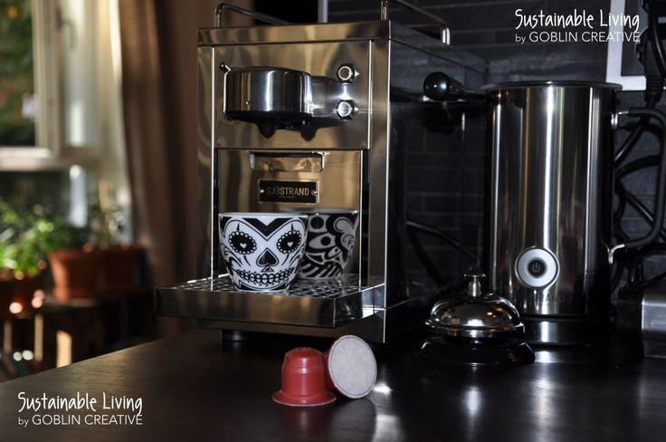 Ingaröföretag och biologiskt nedbrytbara kaffekapslar