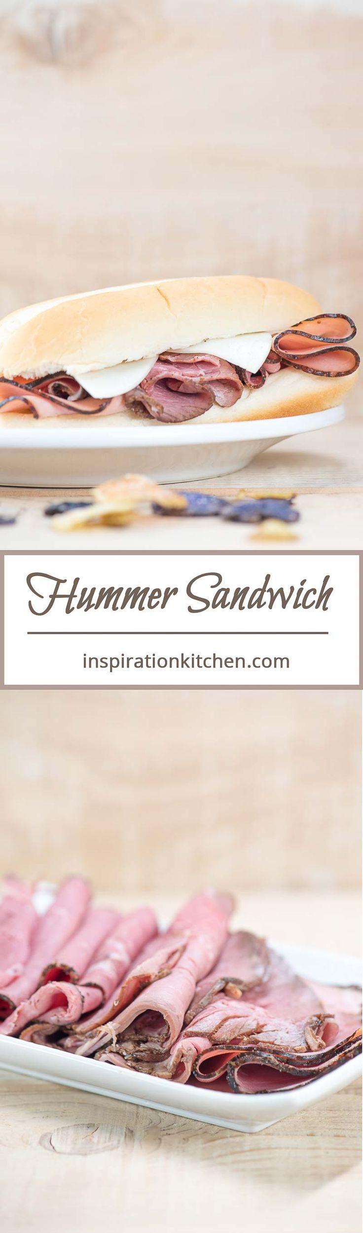 Hummer Sandwich | Inspiration Kitchen  #sandwich #sandwiches #hotsandwich #grinder #recipe