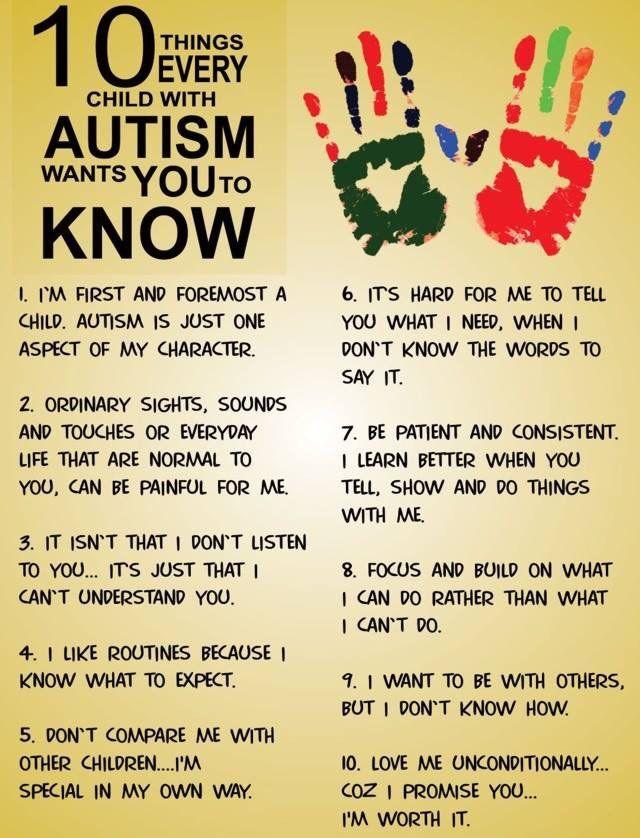 #Autism Top 10 To Know!Penina Rybak MA/CCC-SLP, TSHH CEO Socially Speaking LLC Website: www.SociallySpeakingLLC.com