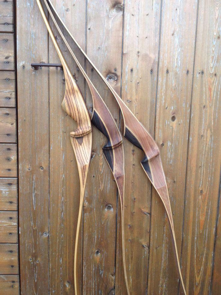 Archi ricurvi da caccia Paganini #handcrafted #paganiniarchery