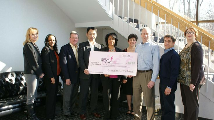 This past October Konica Minolta held a fundraiser for Breast Cancer Awareness, KMMI employees raised a total of $1250 and KMMI matched that amount!