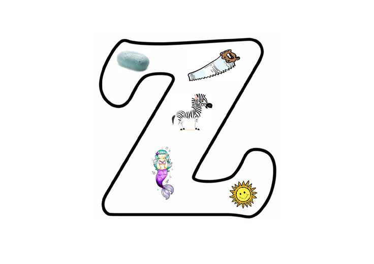 Letterpuzzel - Letter Z