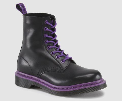 Doc Martens: PASCAL Boots! Purple / Black!