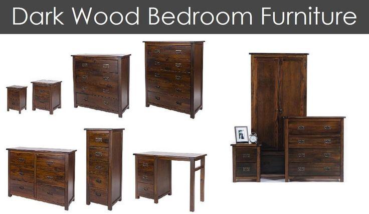 Dark Wood Brown Bedroom Furniture Set Antique Pine Wardrobe Chest Bedside | Home, Furniture & DIY, Furniture, Bedroom Furniture Sets | eBay!