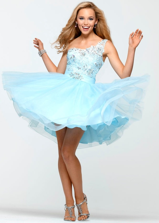 Light Blue Semi Formal Dress Fashion Dresses
