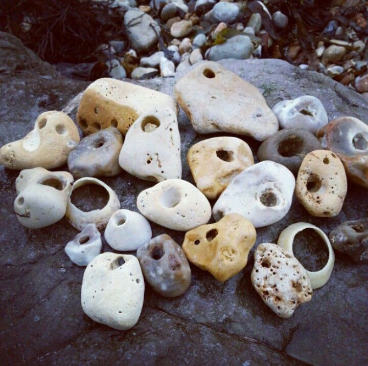 stones with natural holes in them are said to be a gateway to the fairy world