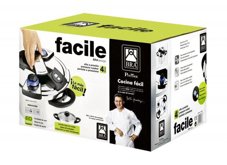 OLLA RÁPIDA FACILE - Menaje hogar y cocina. Accesorios y utensilios de cocina. BRA.