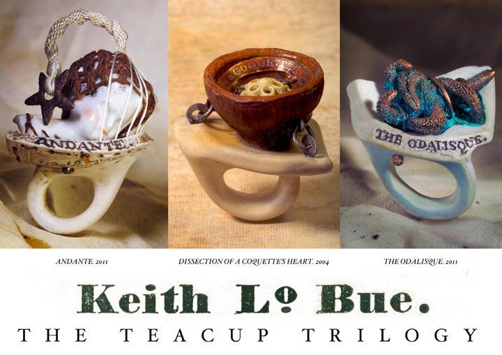 Keith Lo Bue - Teacup handle rings: Figures Jewelry, Teacups Handles, Crafts Ideas, Diy Art, Jewelry Design, Bue Rocks, Object Art, Artists Keith Lo, Handles Rings