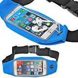 Cheap BTY Running Belt for Iphone 5/5s/6/6s plus Stretchable TouchScreen Waterproof for Cycling Hiking Jogging walking...