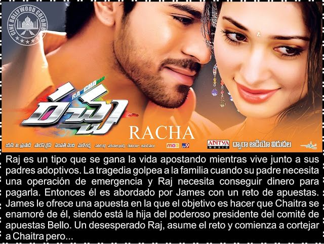 Cine Bollywood Colombia: RACHA