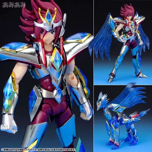 "Anime ""Saint Seiya Omega"" Original BANDAI Tamashii Nations Saint Cloth Myth Action Figure - Pegasus Koga / Kouga"