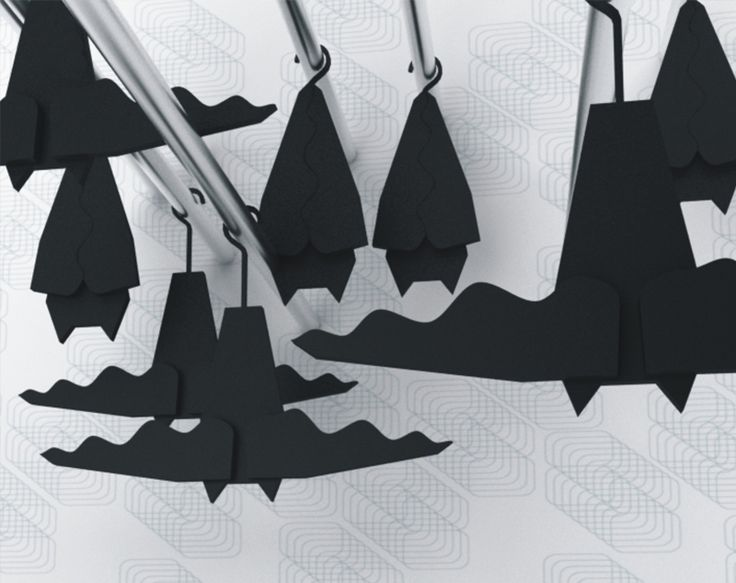 Veronika Paluchova's Bat hangers
