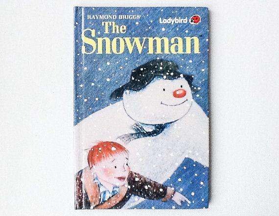 Vintage The Snowman Book, Ladybird Book of the Raymond Briggs Snowman Film, First Edition, 1988, Gloss Hardback, 00388