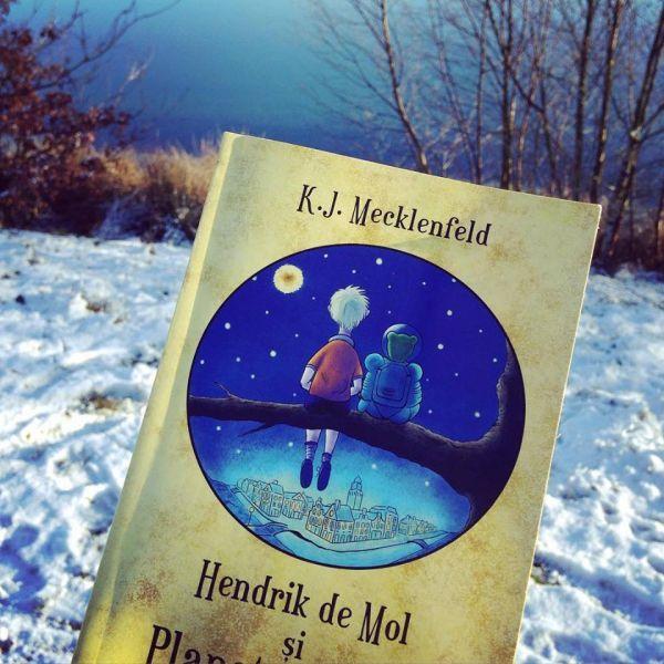 Recenzie: Hendrik de Mol și Planeta de Aur, K.J. Mecklenfeld - www.LumeaLaurei.ro
