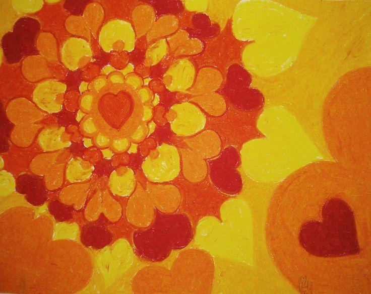 Heart | Coeur 11x14 | 27.9 x 35.5 environ  Papier Canson sans acide  Canson Paper acid free  98Lb | 160g