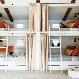 Grown up bunk beds for the cabin