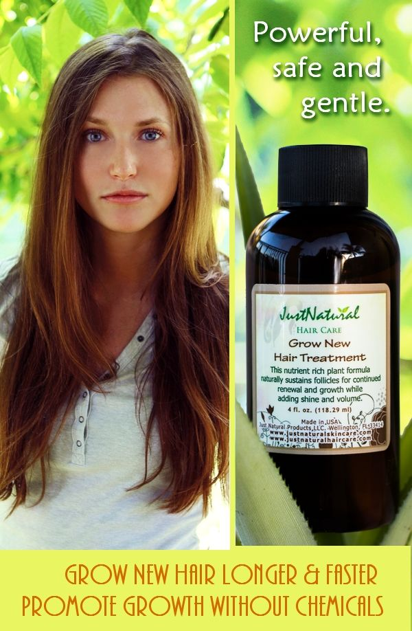 Encourage hair growth without side effects. Forget drugstore formulas. Stop clogging your hair follicles  and open hair roots to regrow hair. Learn More at http://www.justnaturalskincare.com/hair-grow-new-hair/grow-new-hair-treatment.html