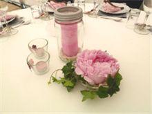 DIY pynt festbordet selv til konfirmasjonen. Blomsterbuketter binne selv.