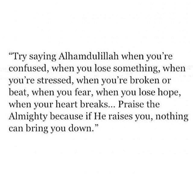 This is the absolute truth if Allah s.w.t. is for you who can be against you?..