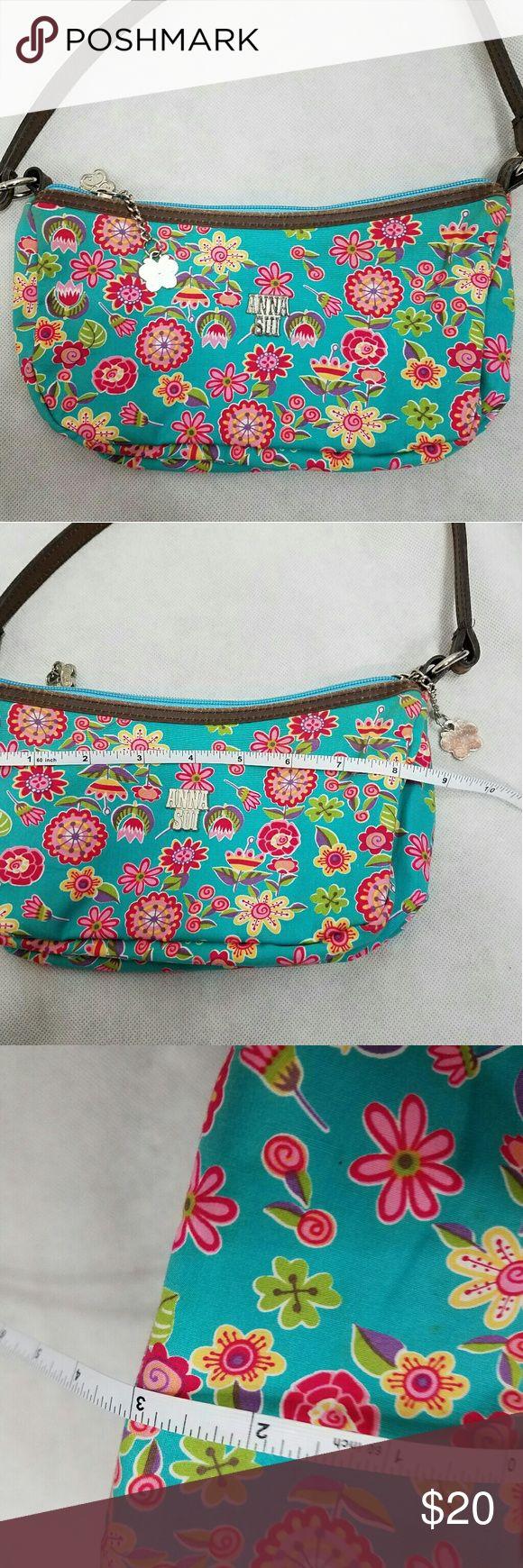 Anna Sui purse Spring / summer cute. Small bag. See photos Anna Sui Bags Mini Bags