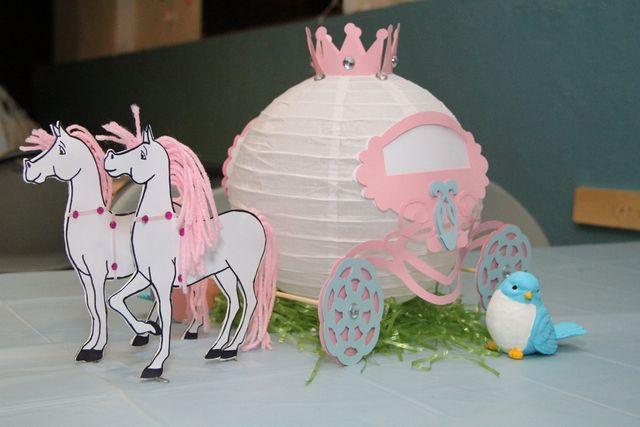 Cinderella Party Decorations #cinderella #partydecor