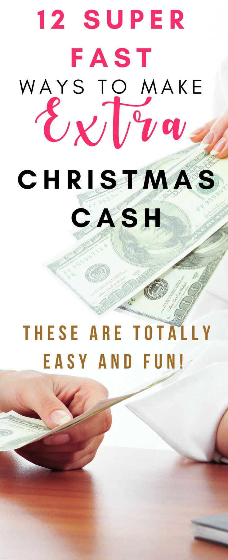 These are all actually super smart ways to make some extra money that you can start right away!