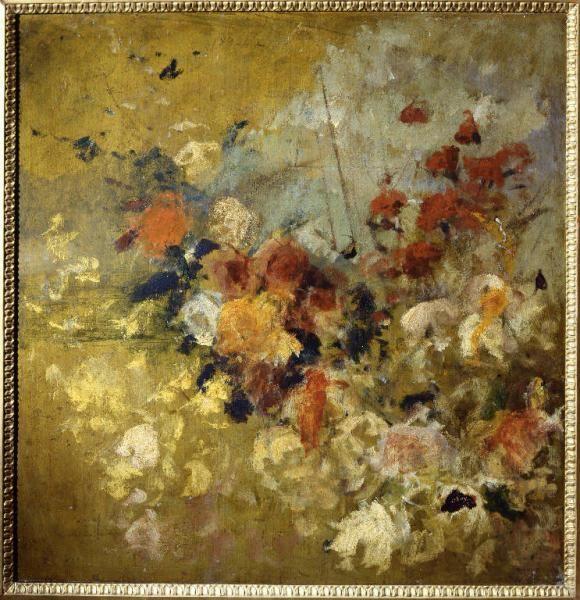 Paesaggio con fiori Tallone Cesare
