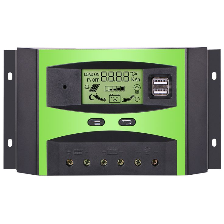 Giaride 30a 24v 12v pwm solar charge controller