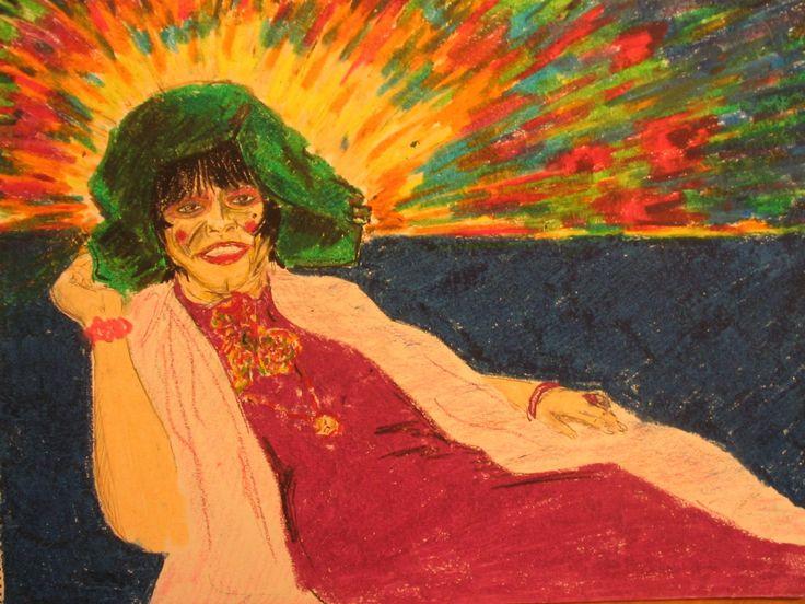 An Actress&Painter at Her 90: Semiha Berksoy.  Omer Haluk Yilmaz