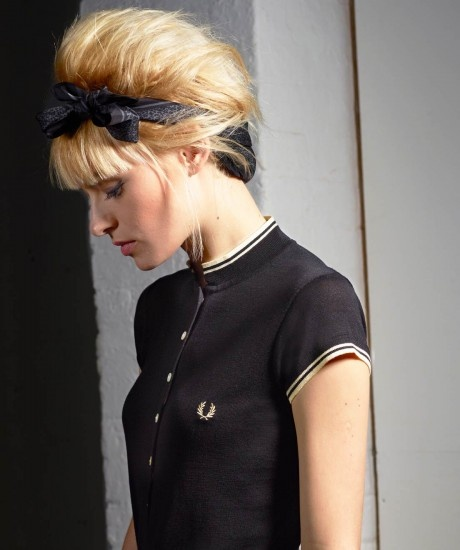 Fred Perry for the Amy Winehouse Foundation Collection - Fine Gauge Fred Perry Shirt | 120.00