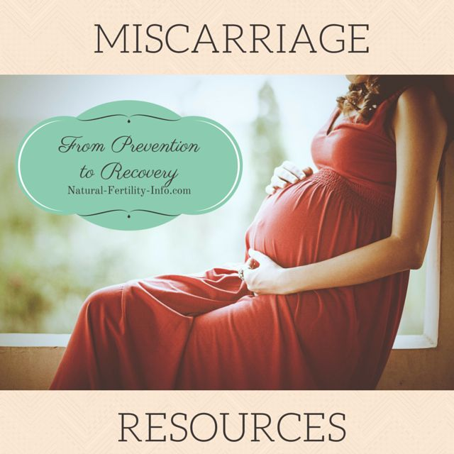 Conceiving naturally after clomid miscarriage