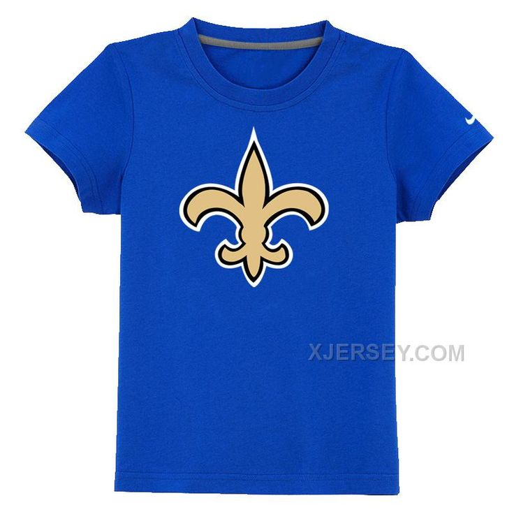 http://www.xjersey.com/new-orleans-saints-authentic-logo-youth-tshirt-blue.html NEW ORLEANS SAINTS AUTHENTIC LOGO YOUTH T-SHIRT BLUE Only $26.00 , Free Shipping!