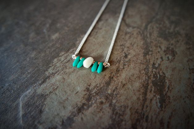 Medium Necklaces – Emerald Stone of the Wise – a unique product by _IRMY_ on…