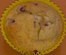 Pear & Raspberry Muffins
