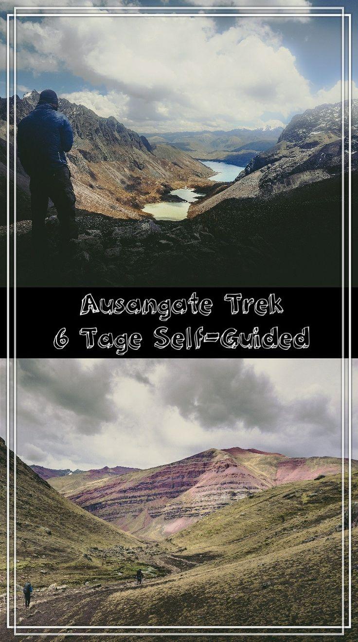 6 Tage Trekking durch die unglaubliche Landschaft der Cordillera Vilcanota in der Region Ausangate.....