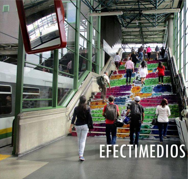 El Metro de Medellín, nos confió la implementación e instalación de aplicaciones especiales para la campaña #MiMetroMeMueve en la tradicional #FeriaDeLasFlores Medellín 2017